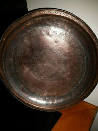 A very old tray of red copper London, N6E 3P5
