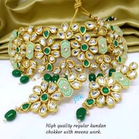 High quality kundan set colours available Hathoj, 302012