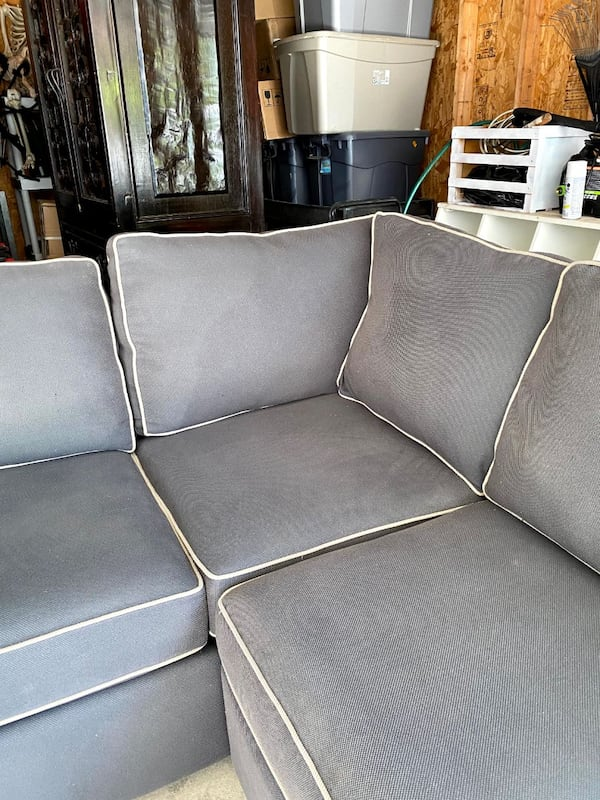 Sectional Couch - Gray 7