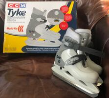 Youth Expandable Ice Skates - Excellent!
