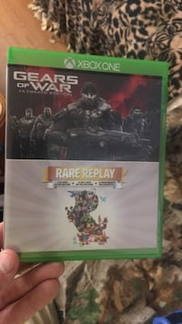 Xbox One Gears of War 4 game case