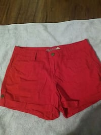 Red faded glory size 12 shorts Roseville, 95661