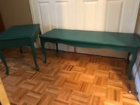 Fabulous Teal Green tables Brampton, L6Z 1X2