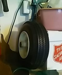 New wheelbarrow tire $7 firm