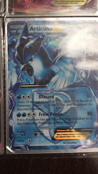 blue and white Pokemon trading card Whitby, L1P 1W1
