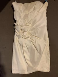 Strapless dress, Cache, size 6, white Catonsville, 21228