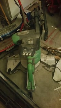 Hitachi mitter slide saw