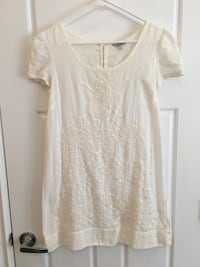 F21 | cotton embroidered dress  Burnaby