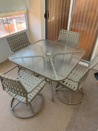 Patio Furniture Table & 4 Chairs  Winter Springs, 32708