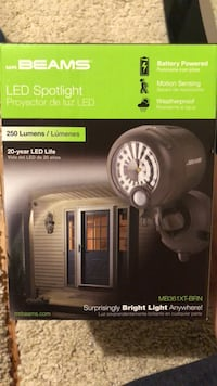 Led Spotlight great for backyards unopened and sealed never used Bethesda, 20817