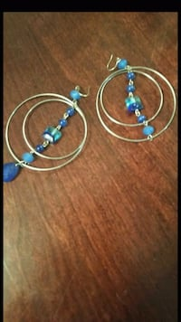 blue and silver beaded necklace Knoxville, 37938