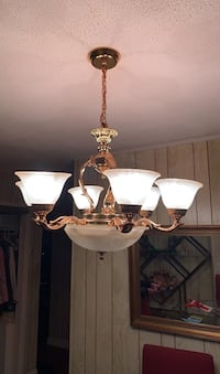 Hanging dining room lamp