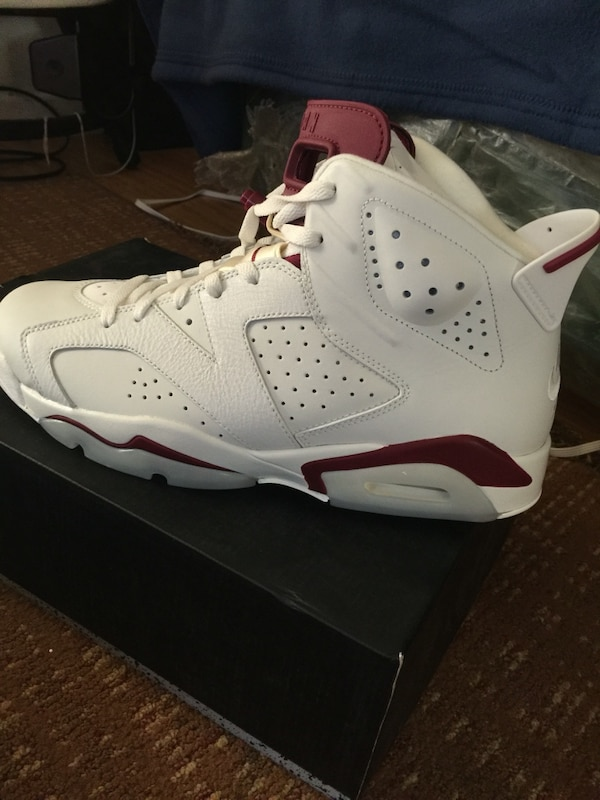 buy online 4ee94 98719 Unpaired white and red air jordan 6