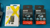 Canon LP-E8 charger & 2 batteries Toronto, M6N 5A8
