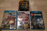 Wii u games lot Lexington