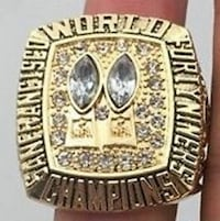 silver and gold championship ring Mississauga, L5E 1N4