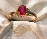 14k Gold Ruby Ring size 7 Macon, 31204
