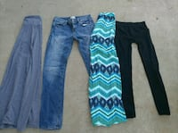 two blue and black pants Moreno Valley, 92557