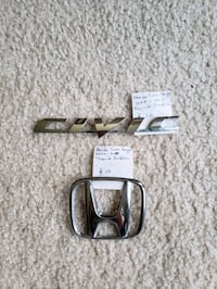 Trunk Emblem Honda Civic Coupe Laurel