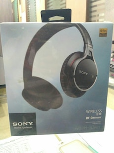 Sony Wireless headphones box