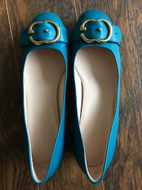 Like new Authentic Gucci heels size 39.5 Port Moody, V3H 4T2