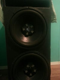 black and gray dual subwoofer speaker Owensboro, 42301