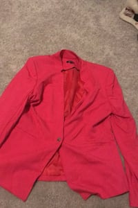 Women's size 12 red Dress shirt