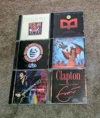 6 CD'S for $12
