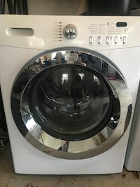 White front-load clothes washer Stafford, 22554