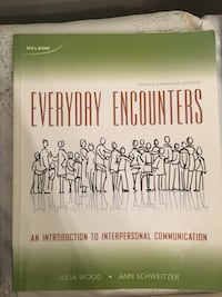 Everyday encounters by julia wood and ann schweitzer book. SSW