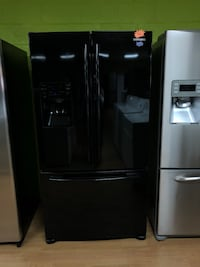 Samsung black French door refrigerator  47 km