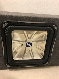 black and gray Kicker subwoofer Woodbridge, 22192