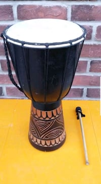 DJEMBE DRUM **COMES WITH A DRUMSTICK!!** Edmonton, T6R