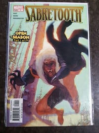 #1 Sabretooth Marvel comic book  Toronto, M3C 4C5