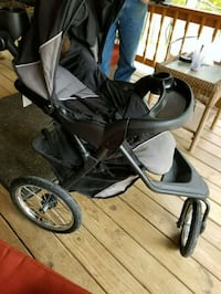 baby's black and gray jogging stroller Mount Clare, 26408
