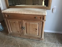 Brown wooden cabinet with drawer Hamilton, L8R 1V8