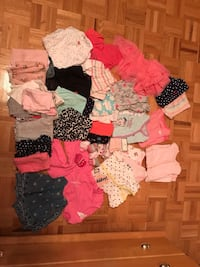 Baby girl clothes NB to 3 months. 30$ for everything  794 km