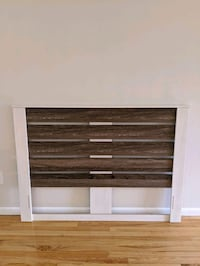 Assembled, never used headboard. Bought from Target. Pick up only. Woodbridge Township