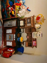 PLAY KITCHEN with appliances and food