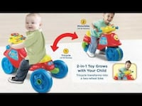 Vtech zoom and learn bike