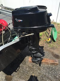 18 horsepower Johnson outboard  Chicopee, 01013