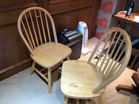 Two wooden windsor chairs Dunwoody, 30338