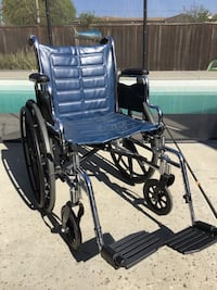 """Young Adult Wheelchair 16"""" Special Needs Invacare EX2"""