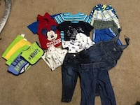 Toddler's assorted clothes 12months Smiths Station, 36874