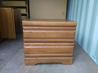 brown wooden 3-tier drawer Lake Country