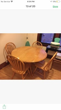 Kitchen table with two chairs Minneapolis, 55406