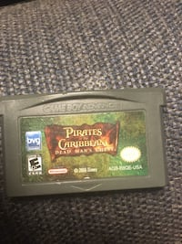Pirates of the Caribbean Game boy game Sarnia, N7S 5G6