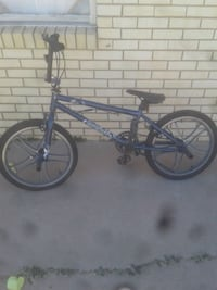 black and blue hard tail mountain bike El Paso, 79924