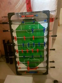 green, blue, and red foosball table Vaughan