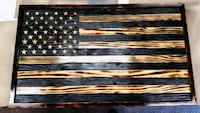Burnt / Torched Wood Flags San Diego, 92108